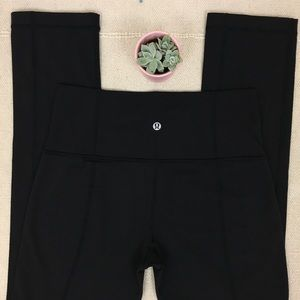 Lululemon Size 6 Skinny Groove Legging Pants Black